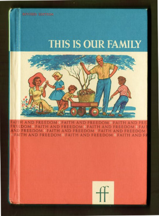 book cover, This is Our Family, 1961