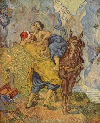 Van Gogh's painting, The Good Samaritan