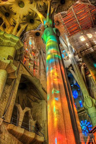Ken Kaminesky's photo of Sagrada Familia Church, Barcelona